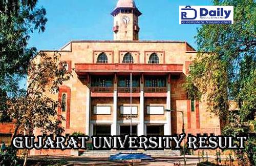 Gujarat University Result 2020