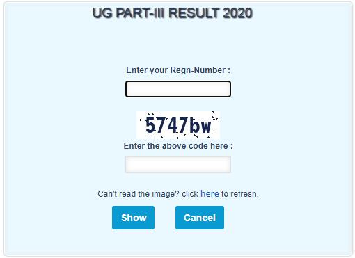 WBSU Part 3 Result 2020