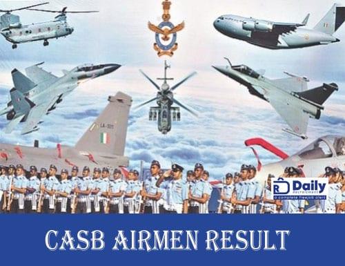 CASB Airmen Result 2020 (