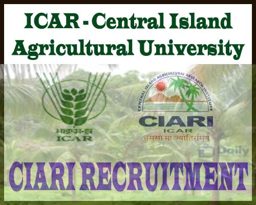 CIARI Recruitment 2020