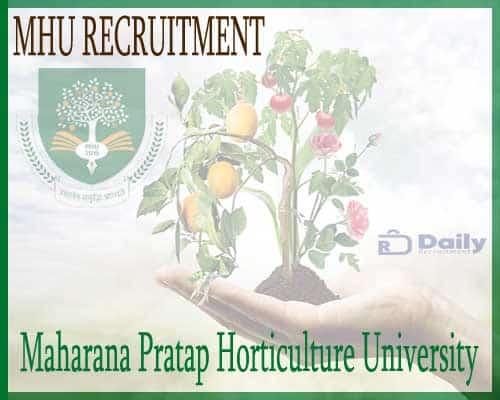 MHU Recruitment 2020