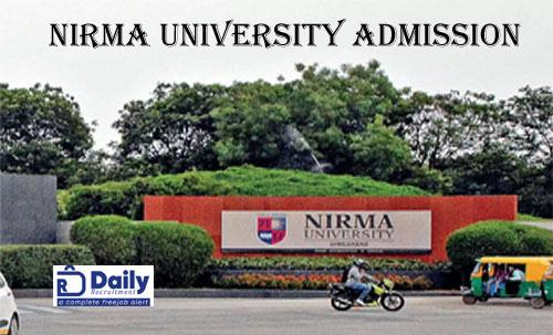 Nirma University Merit List 2020