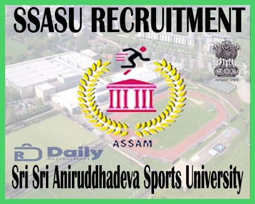 SASU Recruitment 2020