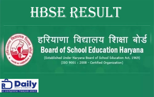 HBSE Compartment Result 2020
