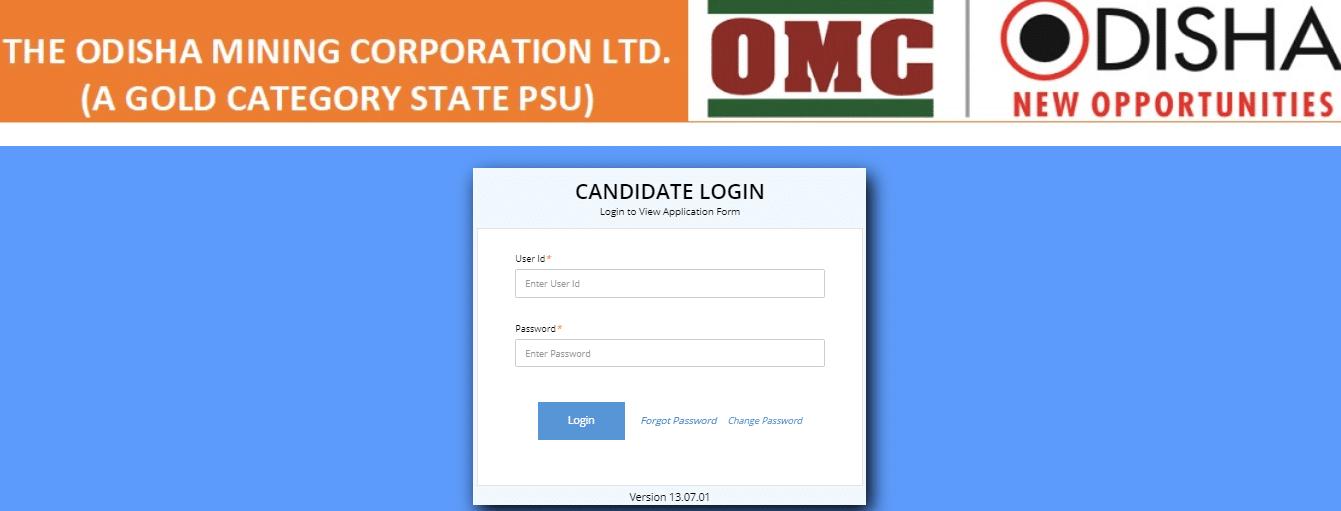omc admit card 2020