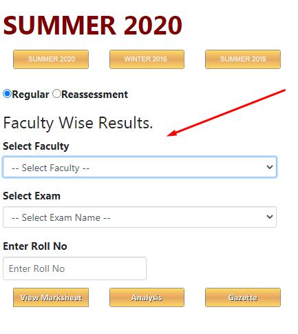 RTMNU 6th Sem Result 2020