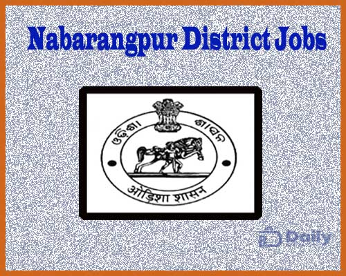Nabarangpur District Jobs 2020