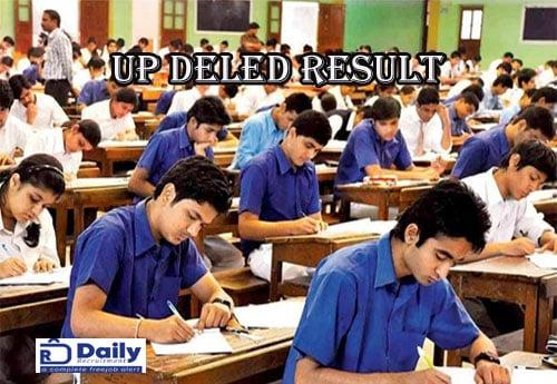 UP DELED 2nd Semester Result 2020