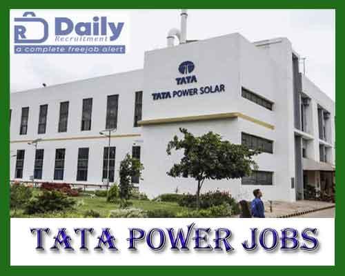 Tata Power Jobs 2021