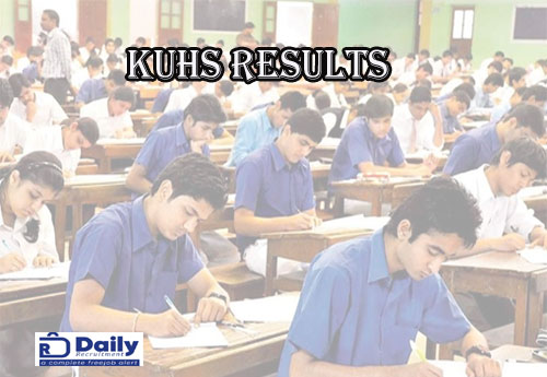 KUHS Dental Results 2021