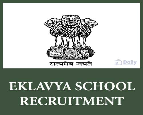 Eklavya School Recruitment