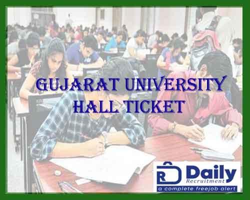 Gujarat University M.Com Sem 1 Hall Ticket 2021