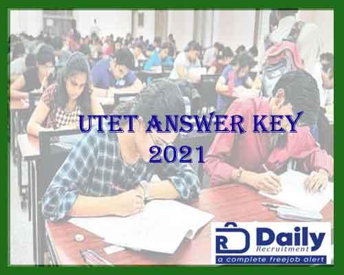 utet answer key 2021