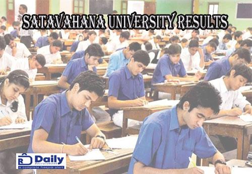Satavahana University B.Ed 2nd Sem Results