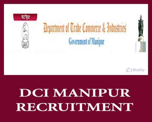 DCI Manipur Recruitment