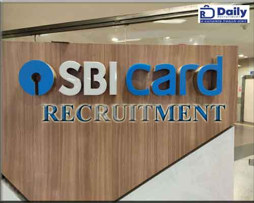 SBI Card Recruitment 2021