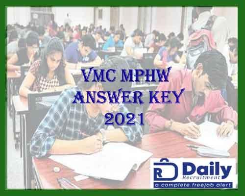 VMC MPHW Answer Key 2021