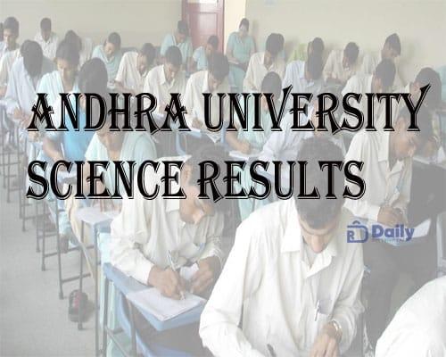 AU Degree 1st Sem Results 2021