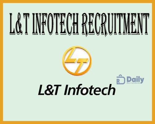 L&T Infotech Recruitment