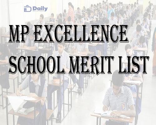 MP Excellence School Merit List 2021