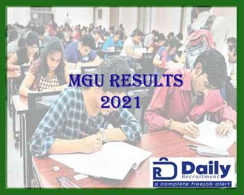 MGU Results 2021