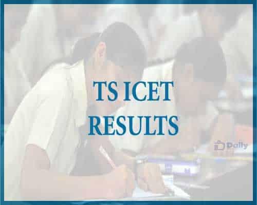 Telangana ICET Results 2021